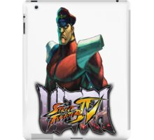 ultra street fighter bison iPad Case/Skin