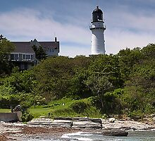 Cape Elizabeth Lighthouse by Dennis Jones - CameraView