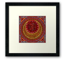 Celtic Sun and Moon (ISIS) Framed Print