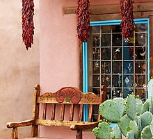 Old Town Albuquerque Shop Window by Catherine Sherman