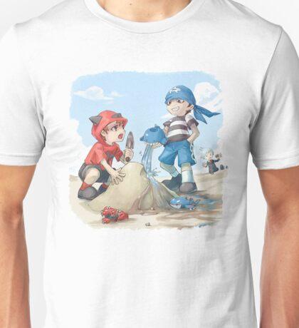 team magma and aqua rivals childhood Unisex T-Shirt