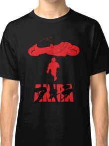 Akira Red on Black Classic T-Shirt