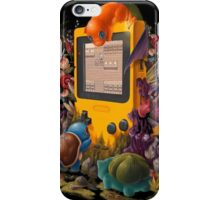 pokemon on gameboy cool design iPhone Case/Skin