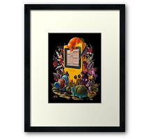 pokemon on gameboy cool design Framed Print
