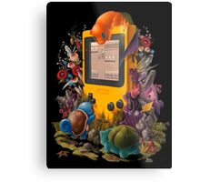 pokemon on gameboy cool design Metal Print
