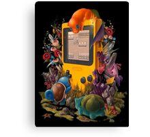 pokemon on gameboy cool design Canvas Print