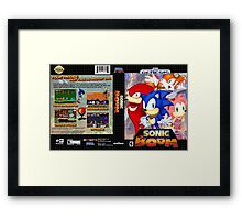 Sonic Boom Genesis Framed Print