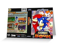 Sonic Boom Genesis Greeting Card