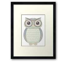 One Cool Owl Framed Print