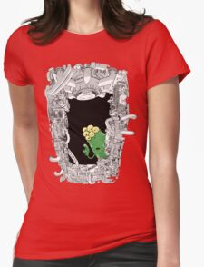 Erm ... 'scuse me ... Womens Fitted T-Shirt