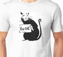 Banksy Rat You Lie Print Unisex T-Shirt