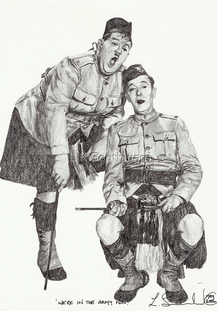 We're in the army now! by L K Southward