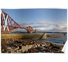 Forth Bridge from North Queensferry Poster