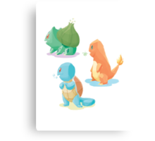 pokemon 1st gen cool design Metal Print