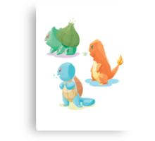 pokemon 1st gen cool design Canvas Print