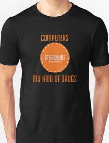 BitsAndBytes, Computers are my drugs T-Shirt