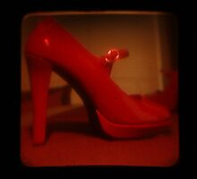 Ttv: Red Mary Jane by PeggySue67