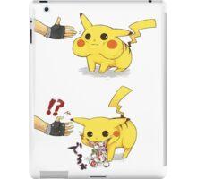 pikachu trolling ash iPad Case/Skin