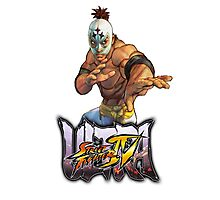 ultra street fighter el fuerte Photographic Print