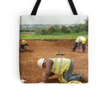 Three Archaeologists and a Roman Road Tote Bag