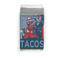 Tacos Duvet Cover