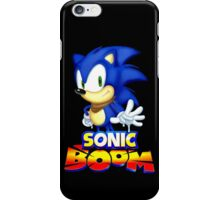 Classic Sonic Boom iPhone Case/Skin