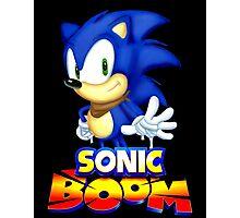 Classic Sonic Boom Photographic Print