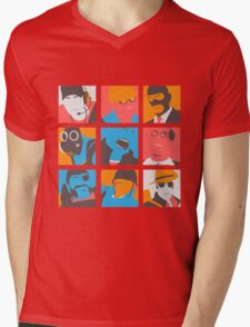 Team Fortpop Mens V-Neck T-Shirt