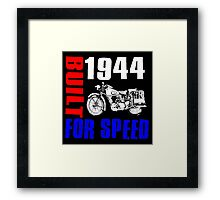 MOTORCYCLE-1944 Framed Print