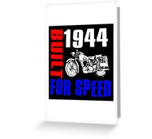 MOTORCYCLE-1944 Greeting Card