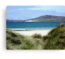 Immaculate Sands - Seilebost and Luskentyre Beaches Canvas Print