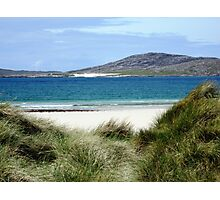 Immaculate Sands - Seilebost and Luskentyre Beaches Photographic Print
