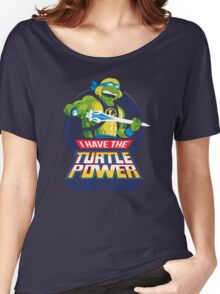 TURTLE POWER Women's Relaxed Fit T-Shirt