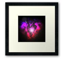 Dragons Heart Framed Print