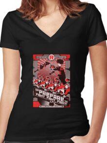 Team Rocketganda Women's Fitted V-Neck T-Shirt