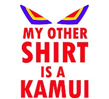 My Other Shirt is a Kamui - Kill la Kill (JUNKETSU VERSION) Photographic Print