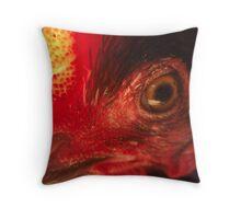 sit on eye Throw Pillow