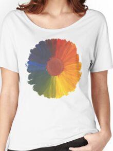 Colour Wheel Flower Women's Relaxed Fit T-Shirt