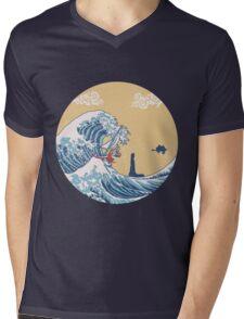 The Great Sea Mens V-Neck T-Shirt