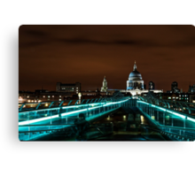 Late...Night in London Canvas Print