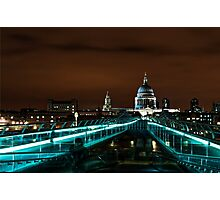 Late...Night in London Photographic Print