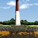 Barnegat (NJ) Lighthouse by JayBakkerArt
