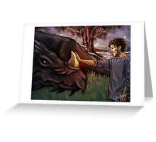 Dragon Series: Louis Greeting Card