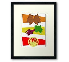 Bears. Beets. Battlestar Galactica. Framed Print