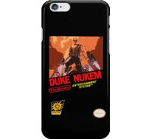Duke Nukem NES iPhone Case/Skin