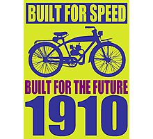 BUILT FOR SPEED-1910 Photographic Print