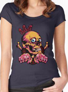 Skull Shaman Women's Fitted Scoop T-Shirt
