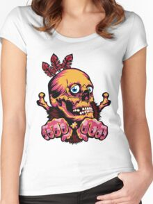 Skull Shaman Women's Fitted Scoop T-Shirt