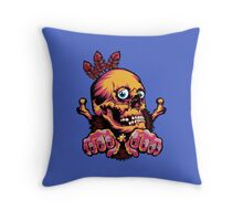 Skull Shaman Throw Pillow