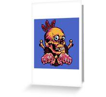 Skull Shaman Greeting Card